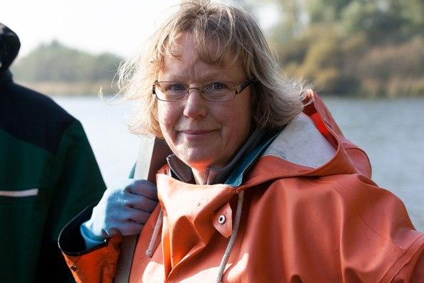 Sabine Schwarten, Fischereimeisterin